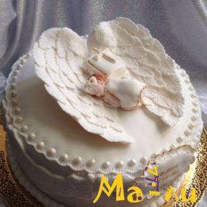 Детские торты на заказ на крещение (крестины)