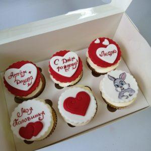 Торты на день святого Валентина